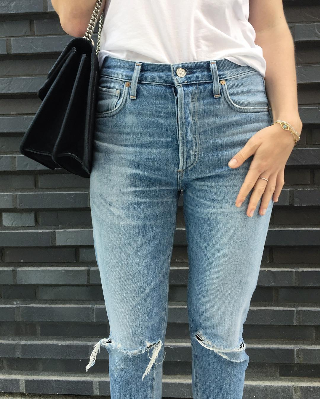 These citizensofhumanity jeans come very close to the perfect pair!hellip