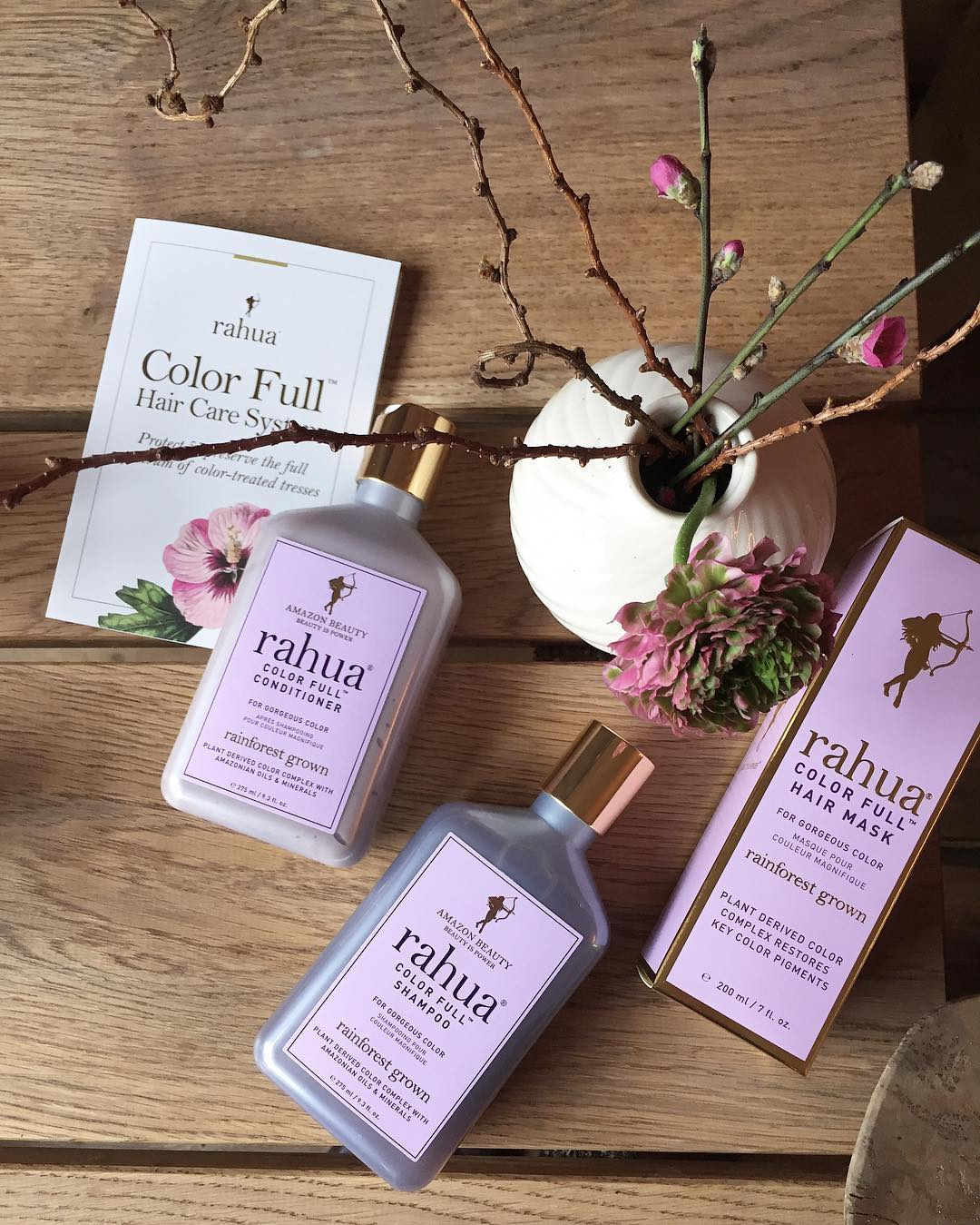 Very excited about the new rahuabeauty color hair care Ivehellip