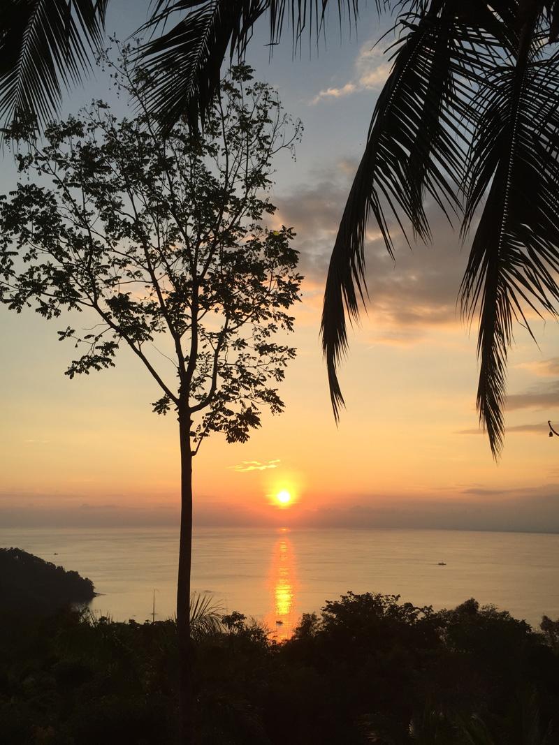RosyCheeks-Blog-Costa-Rica-Manuel-Antonio-Hotel-Mariposa-sunset