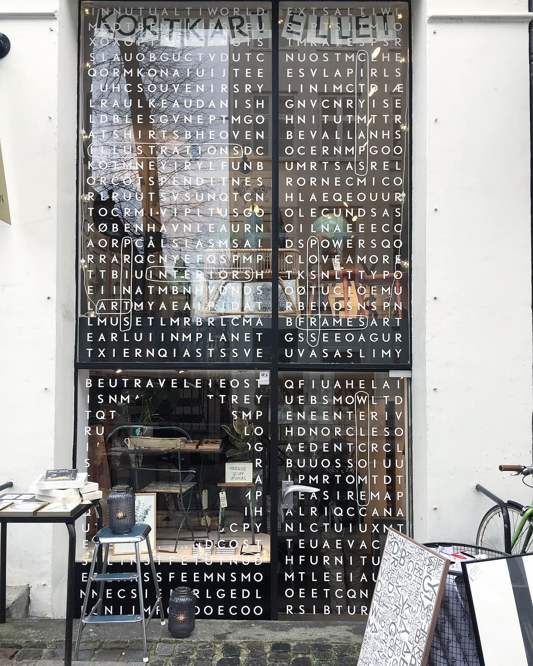 All the creative window designs in copenhagen