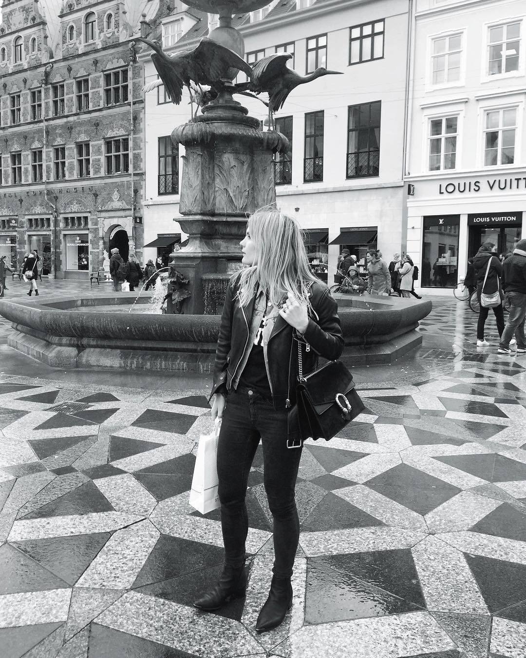 Throwback to windy Copenhagen  waiting for warm spring days