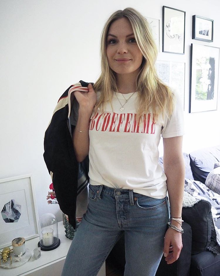 Now on the blog the souvenir jacket Tshirt and jeanshellip