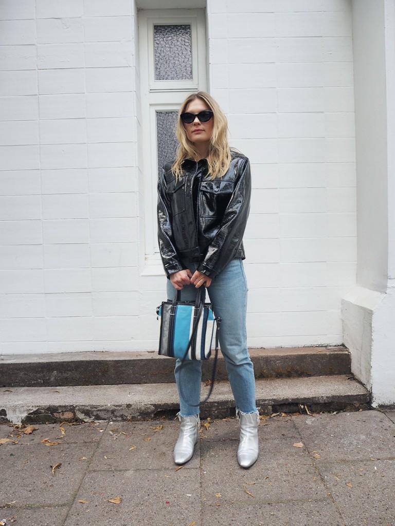 RosyCheeks-Blog-Monki-vinyl-jacket-Aeyde-silver-boots