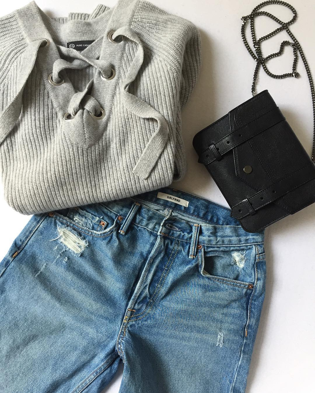 Two new favourites and a classic grlfrnddenim cundacashmere proenzaschouler mygrlfrnd