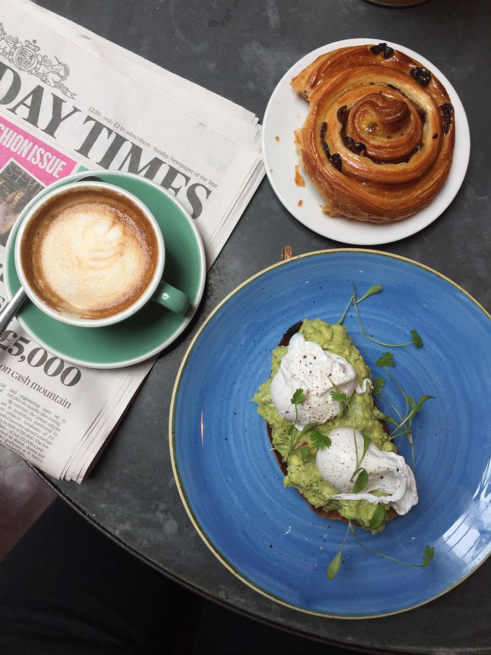 RosyCheeks-Artist-Residence-London-breakfast