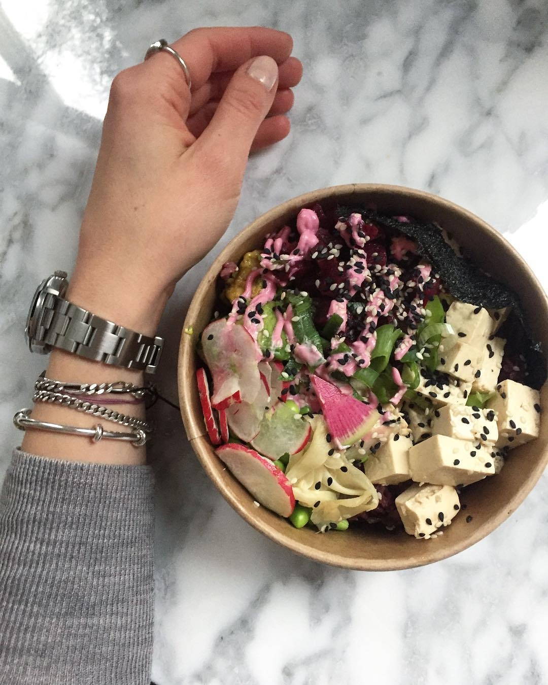 Pretty lunch and soo delicious ombakbowls ombakbowls veganbowl veggiebowl