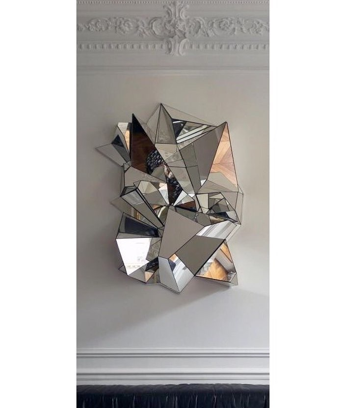 Miroir Froiss Mathias Kiss art
