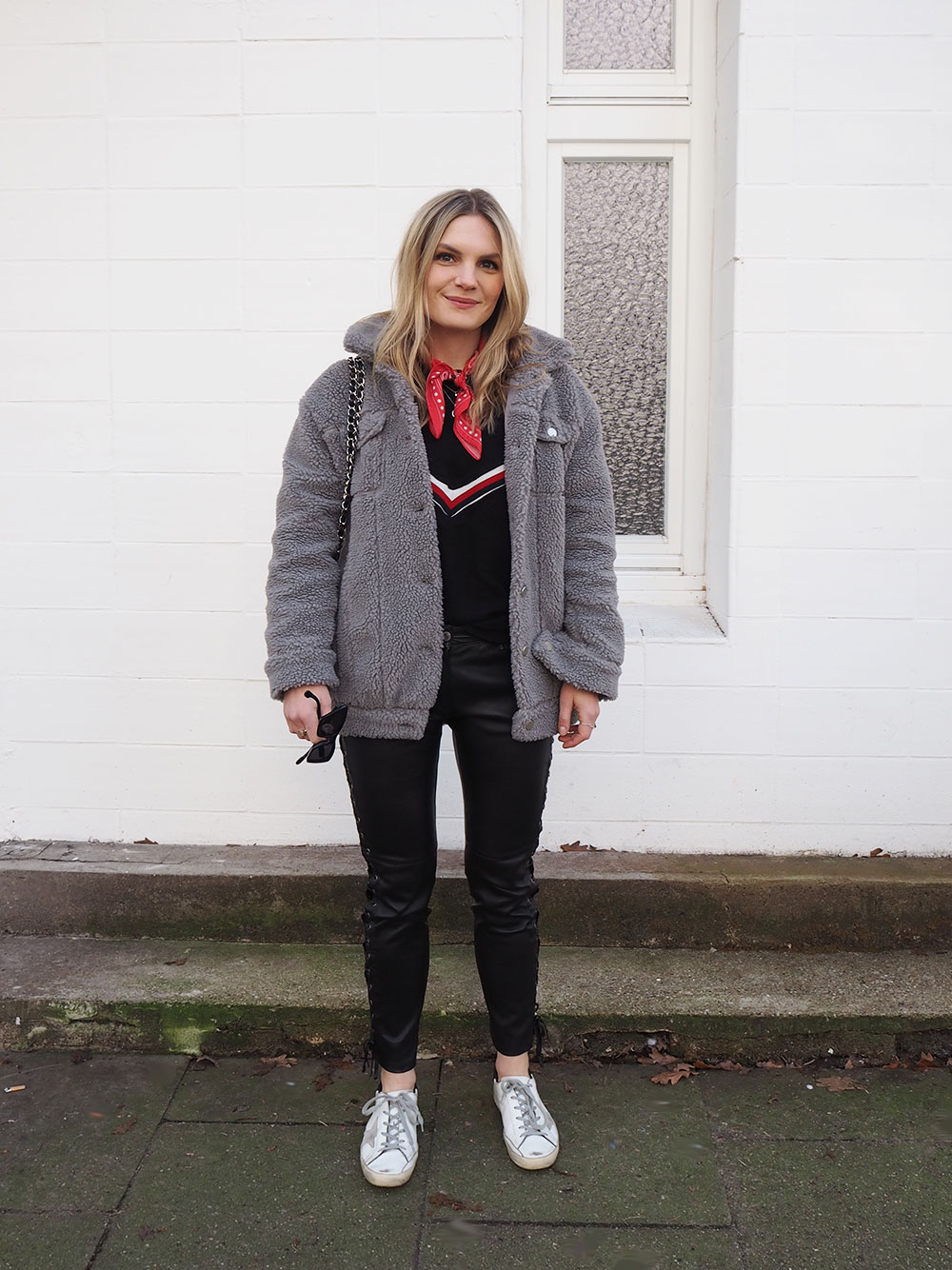 RosyCheeks-Blog-Isabel-Marant-HM-leather-trousers-Golden-Goose-sneakers