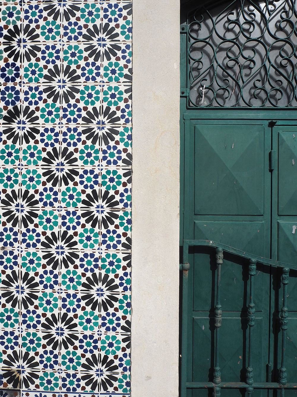 RosyCheeks-Lisbon-green-tiles