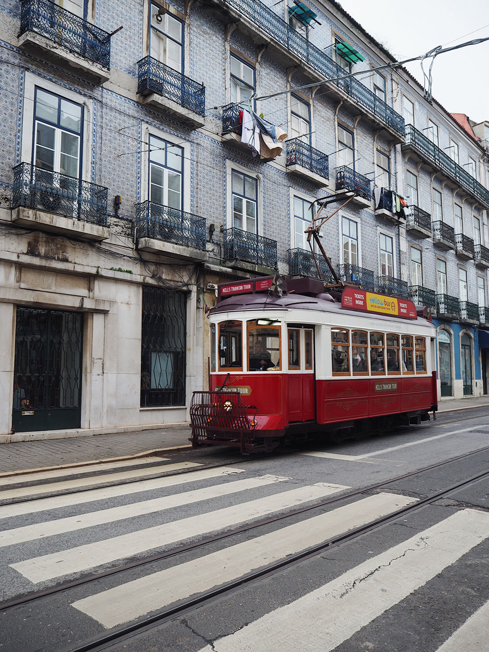 RosyCheeks-lisbon-red-tram