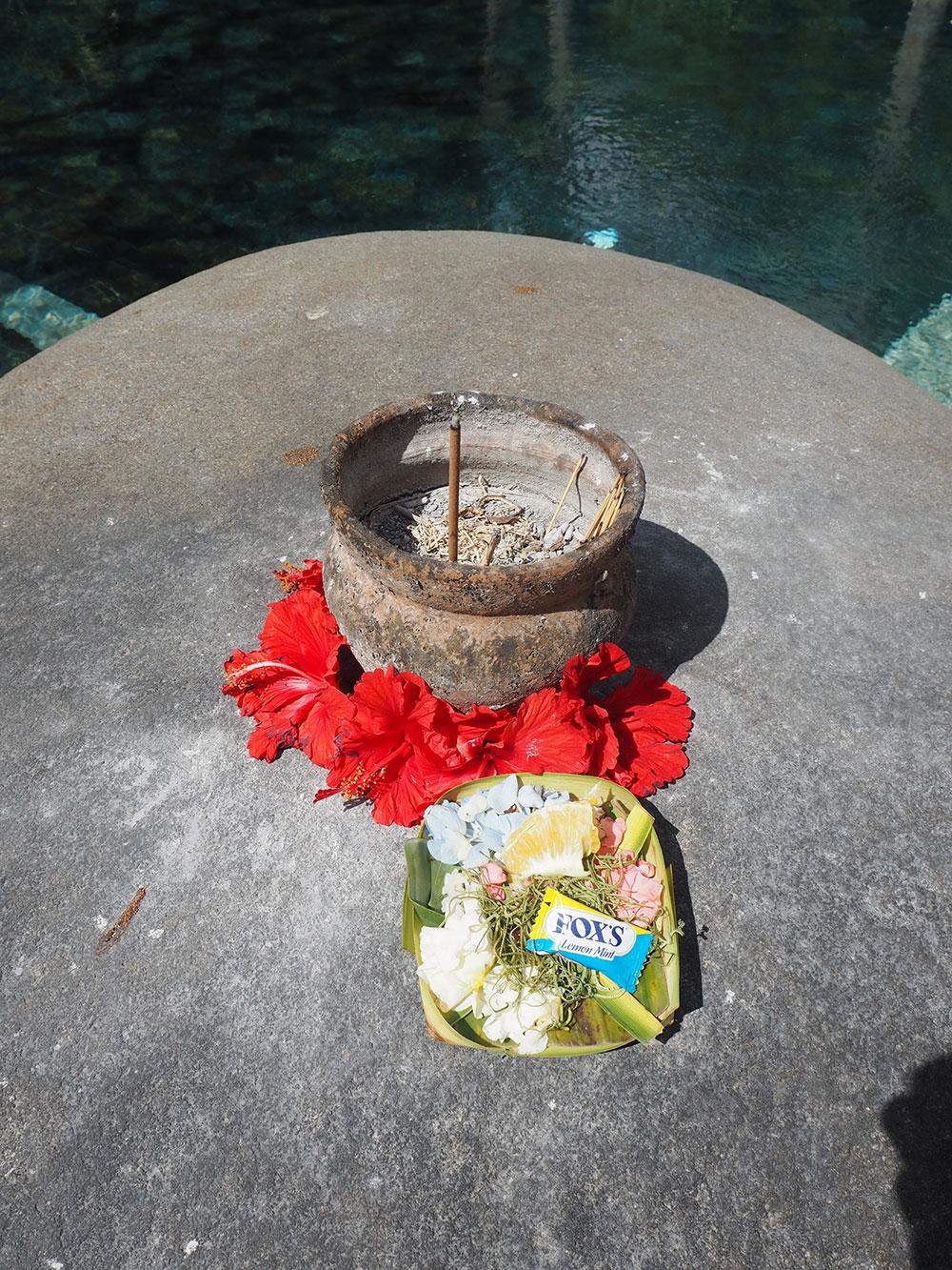 RosyCheeks-Bali-Fivelements-offering